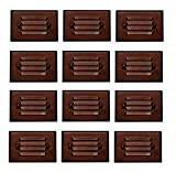 12 Pack Malibu 8406-2403-12 LED Half Brick Outdoor Deck Step Light Oil Rubbed Bronze Finish BY MALIBU DISTRIBUTION