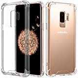 Speira Transparent Clear Case Compatible with Samsung Galaxy S9 Plus [Soft]