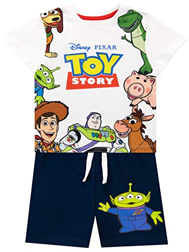 Disney Boys Toy Story T-Shirt and Shorts Set Multicolored Size 8 ()