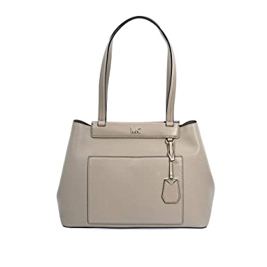 15defd7494af Michael Kors Meredith Medium East/West Bonded Leather Tote- Truffle:  Handbags: Amazon.com