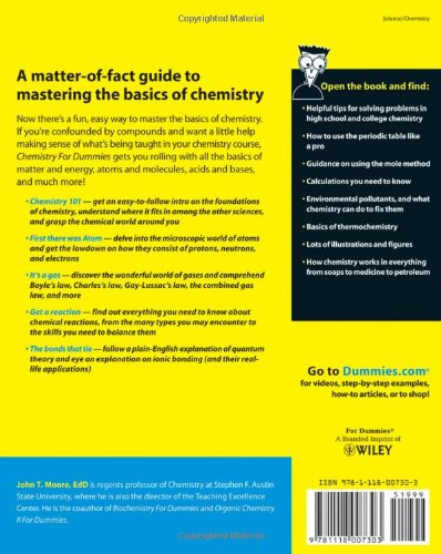 chemistry for dummies free pdf