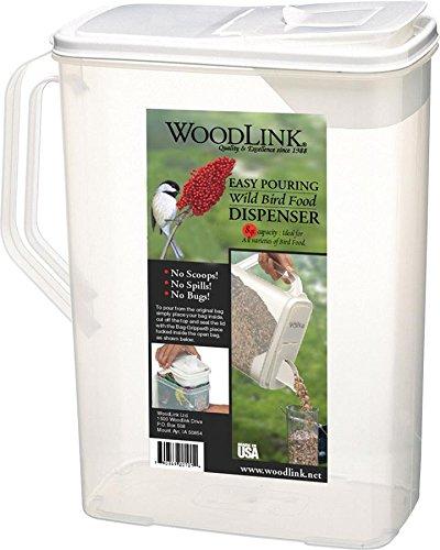 8 Quart Seed Container - Woodlink SC8QT Storage Container, 8 Quart