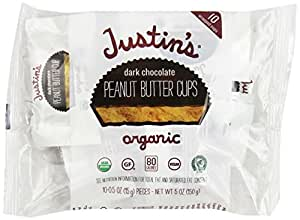 Justins Peanut Butter Cups, Dark Chocolate, 5 Ounce