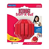 KONG Stuff-A-Ball Dog Toy, Medium, Red