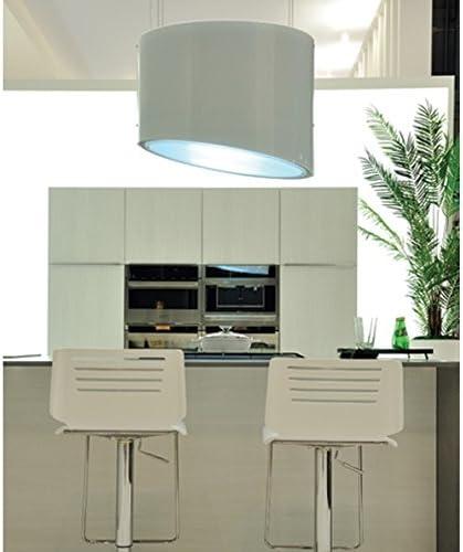 Falmec Spring E.ion System Design - Campana extractora, 80 cm, 600 m³/h, color blanco: Amazon.es: Grandes electrodomésticos