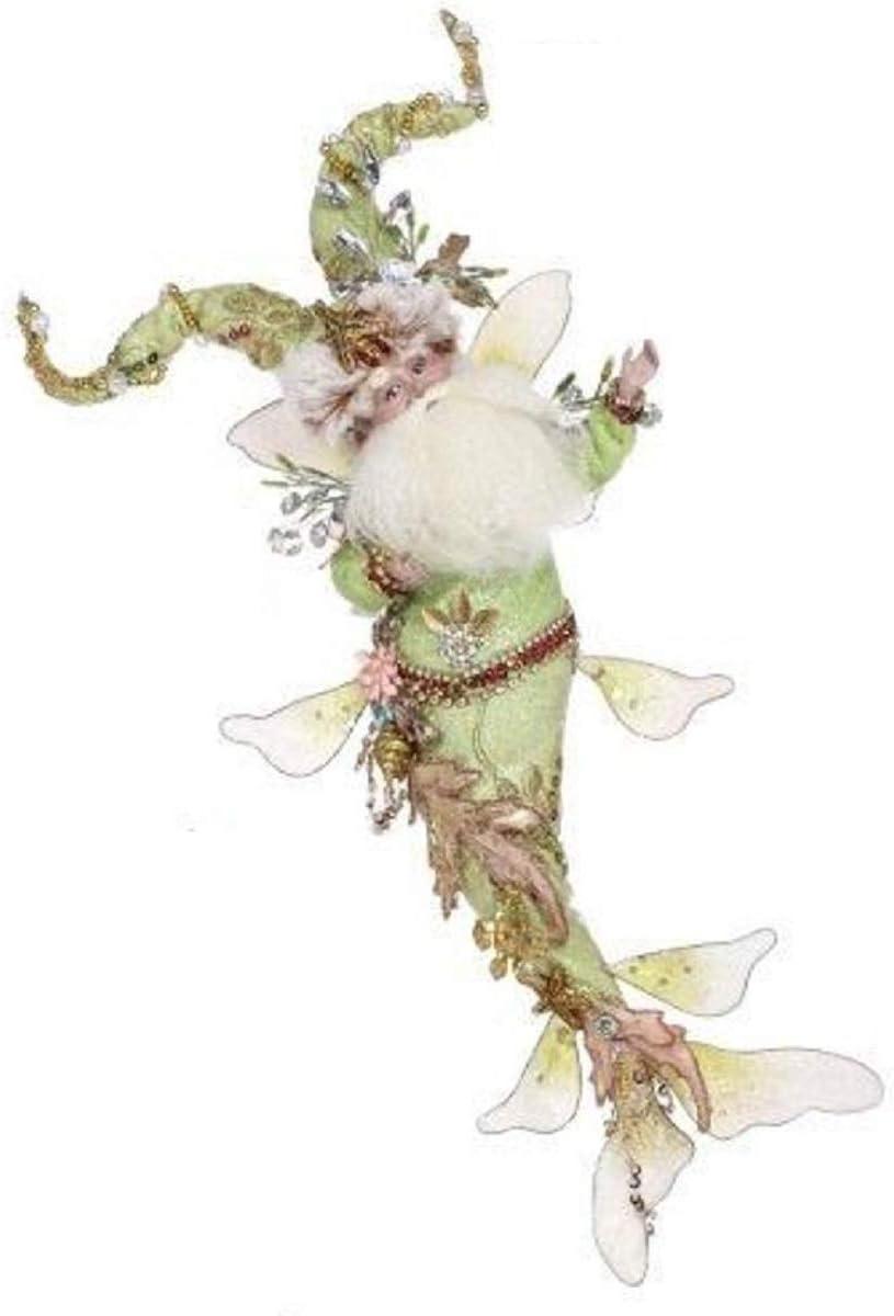 Mark Roberts Fairies, King Neptune Fairy 51-97222-C Small 13 Inches Green