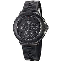 TAG Heuer Men's CAU1114.FT6024 Formula 1 Black Dial Black Strap Chronograph Watch by TAG Heuer