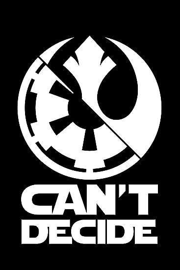 Star Wars Jedi Order Vinyl Decal White Medium