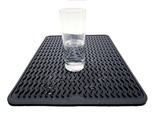 Large Dish Silicone Drying Mat Draining Mat For Kitchen