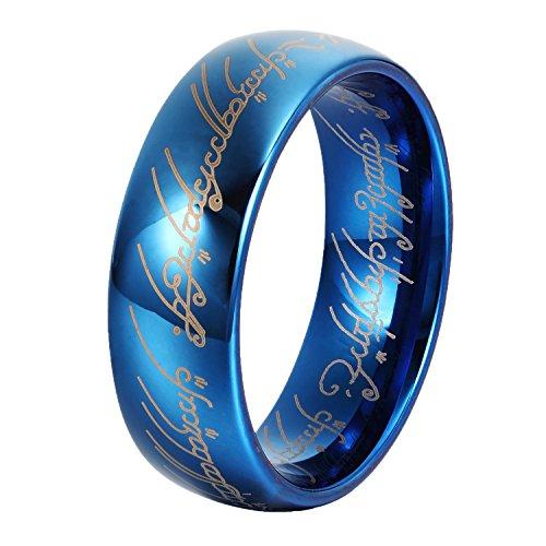 GER Tungsten Promise Wedding Engagement