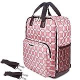 BALORAY Diaper Bag Large Capacity Multi-Function Partable Waterproof Backpack Bag for Mom Travellers Nurses Students