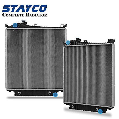 2Row Radiator For 2007 2008 2009 2010 Ford Explorer Sport Trac 4.0L V6/4.6L V8 with TOC STAYCO