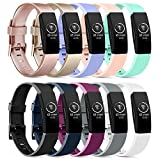 Vancle Bands Compatible with Fibit Inspire HR Band/Fitbit Inspire Band/Ace 2, Soft Waterproof Sport Watch Strap Replacement Wristband for Fibit Inspire HR Band/Fitbit Inspire Band/Ace 2 Fitness Tracker