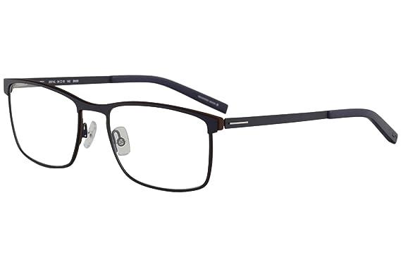 Amazon.com: Morel Eyeglasses Lightec 30014L 30014/L BM06 Blue Full ...