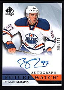 Connor Mcdavid 2015 16 Sp Authentic Rc Rookie Autograph