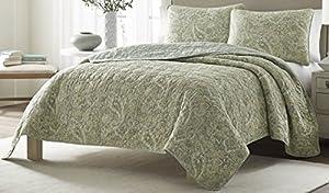 Stone Cottage Emilia Cotton Quilt Set, Full/Queen