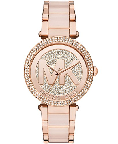 Michael Kors Women's Parker Two-Tone Watch MK6176 (Rose Gold Michael Kor Watch)