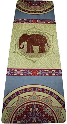 Yoga mat ピラティス、フィットネスのための高度な印刷ヨガマット高密度環境にやさしいノンスリップエクササイズマット workout