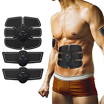 EMS Abs Trainer Ab Belt,Ailida Abdominal Muscles Toner,Body Fit Toning Belts,Ab Toner Fitness Training Gear Machine Home//Office Ab Workout Equipment Machine for Men/&Women