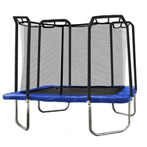 Skywalker Square Red de seguridad para cama elástica cubierta Pad (Primavera) para 4x 4m cama elástica, color azul