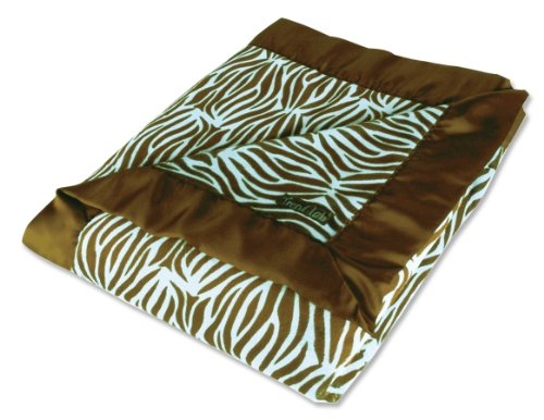 Trend Lab Receiving Blanket with Satin Frame