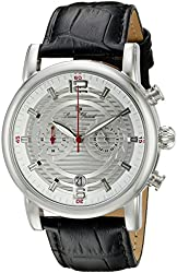 Lucien Piccard Watches Morano Leather Band Watch