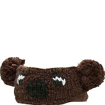 San Diego Hat Knit Headband With Bear Face