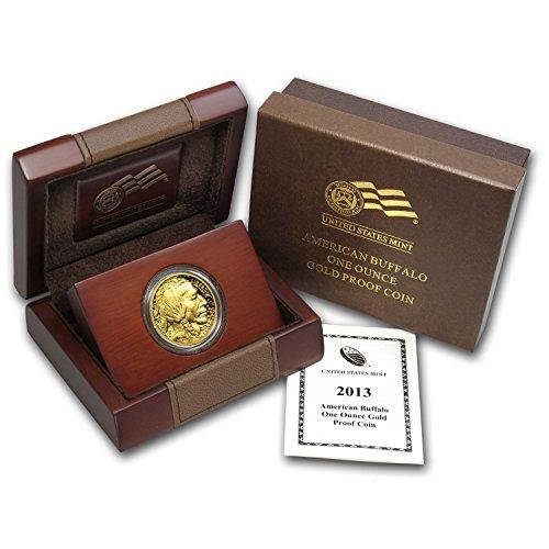 2013 W 1 oz Proof Gold Buffalo (w/Box & COA) 1 OZ Brilliant Uncirculated
