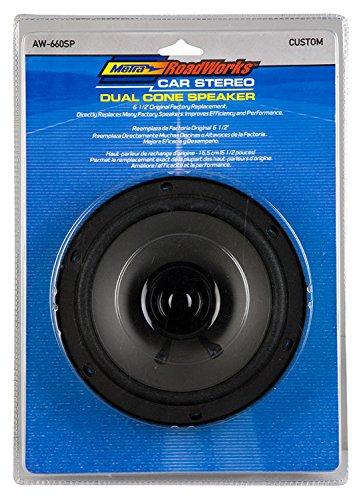 - Metra Electronics AW-660SP Speaker 6.5 in. Dual Cone Speaker