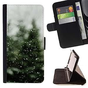 For Samsung Galaxy J1 J100,S-type Neige - Dibujo PU billetera de cuero Funda Case Caso de la piel de la bolsa protectora