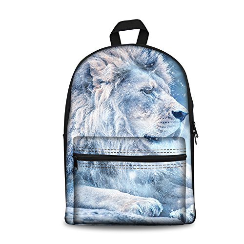 CHAQLIN Cool Wild Animal Printing Backpack Teen School Book Bag