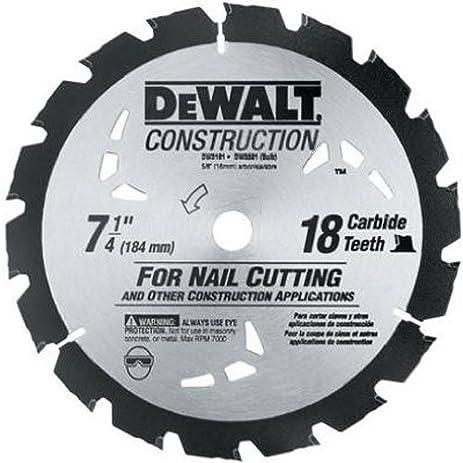Dewalt dw3191 series 20 7 14 inch 18 tooth nail cutting saw blade dewalt dw3191 series 20 7 14 inch 18 tooth nail cutting saw greentooth Gallery