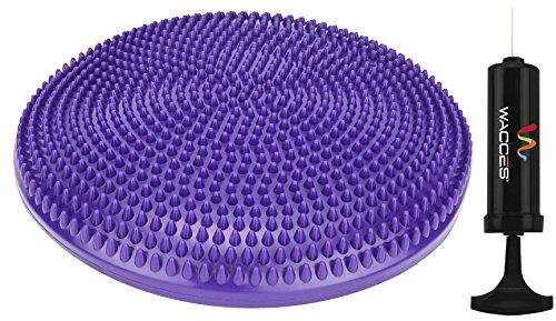 "Wacces Athletic Inflatable Twist Massage Balance Board, 13"","