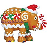 Westland Giftware Elephant Parade Resin Figurine in Tin Window Box, 4.25-Inch, Gingerphant by Westland Giftware