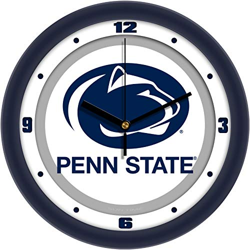 - SunTime Penn State - Weathered Wood Wall Clock