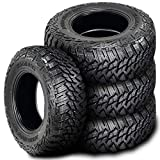 305/70R18 Tires - Set of 4 (FOUR) Kanati Mud Hog M/T Mud Tires - LT305/70R18 126/123Q E (10 Ply)