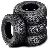 305/70R18 Tires - Set of 4 (FOUR) Kanati Mud Hog M/T Tires-LT305/70R18 126/123Q LRE 10-Ply