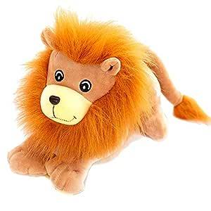 yfkgh León de simulación, león de Peluche, Rey del Bosque ...