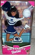 Penn State University Barbie Cheerleader African-American