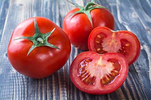 "Clovers Garden 2 Better Bush Tomato Plants LIVE – 4"" to 7"" tall, 3.5"" pots – Non-GMO, Determinate, Classic Globe Slicer, Includes Copyrighted Clovers Care (Bush Tomato Plants)"