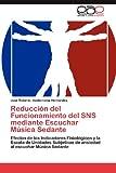 Reducción Del Funcionamiento Del Sns Mediante Escuchar Música Sedante, José Roberto Valderrama Hernández, 3848471647