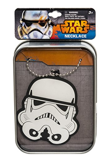Star Wars Tin Printed Case with Rubber Charm Bracelet