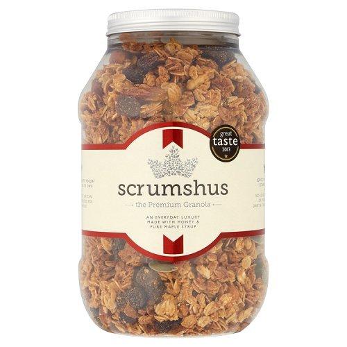 Scrumshus No Added Salt or Sugar Luxury Granola 500 g (Cereals With No Added Sugar Or Salt)