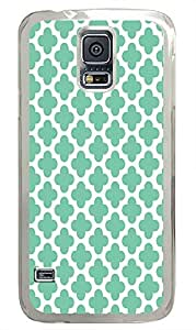 Samsung S5 most protective covers Chevron Stripe Green PC Transparent Custom Samsung Galaxy S5 Case Cover by supermalls