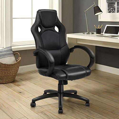 Giantex Gaming Chair Racing Chair High Back Bucket Seat