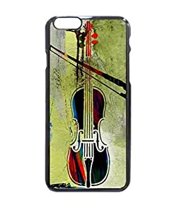 Violin And Bow Pattern Hard Durable Cover Case for Apple iPhone 6 4.7-inches
