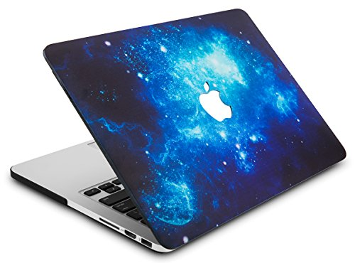 """KECC Laptop Case for MacBook Pro 13"""" (2020) w/Keyboard Cover Plastic Hard Shell A2289/A2251 Touch Bar + Screen Protector 3 in 1 Bundle (Blue 2)"""