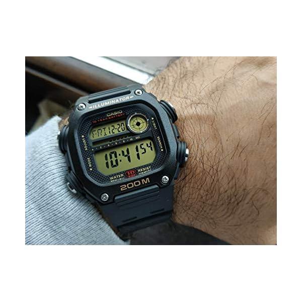 Casio Reloj Digital para Hombre de Cuarzo con Correa en plástico DW-291H-9AVEF 5