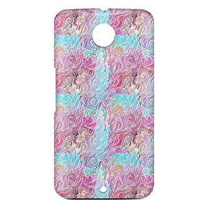 Loud Universe Motorola Nexus 6 3D Wrap Around Hair Print Cover - Multi Color