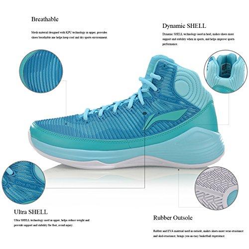 Sneaker Da Uomo Quickness Scarpe Da Basket Supporto Sneakers Ultra Shell Stabilità Dinamica Shell Scarpe Sportive Da Uomo 3h